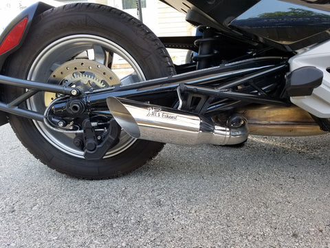 2015-2019 Can-Am Spyder F3 Punisher Series Exhaust