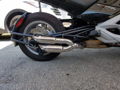 2015-2021 Can-Am Spyder F3  Twin Kaos Series Exhaust