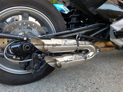 2015-2019 Can-Am Spyder F3  Twin Kaos Series Exhaust