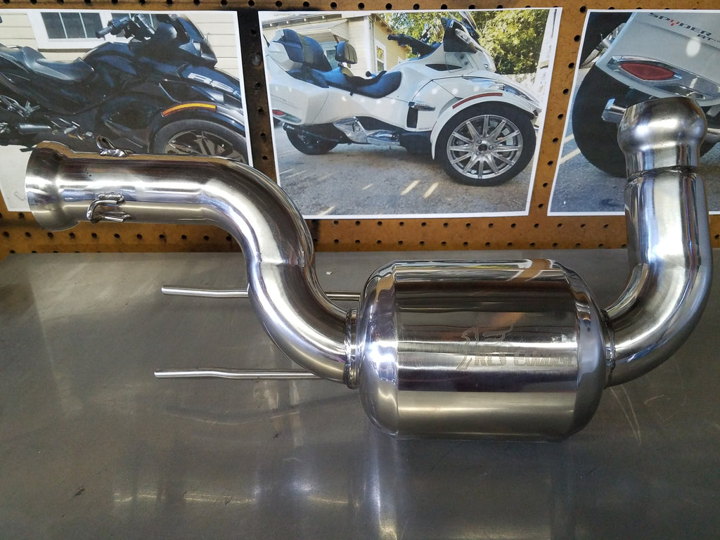 2014-2015 Can-Am Spyder 1330 Cat Delete muffler