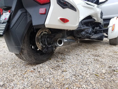 2016-2019 Can-Am Spyder F3 limited or touring Punisher Series Exhaust