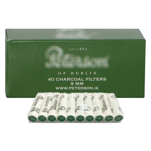 Peterson Charcoal Pipe Filters 9mm
