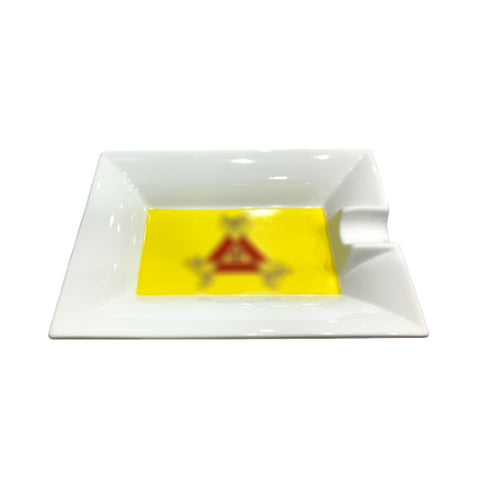 montecristo ceramic single cigar ashtray