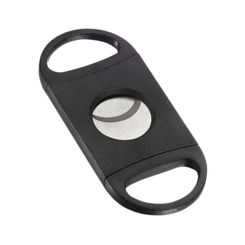 black plastic cigar cutter