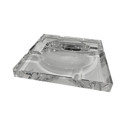Cohiba Crystal Square Cigar Ashtray