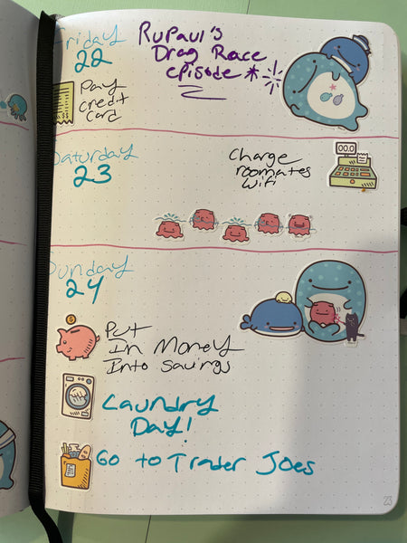 Pink Blush Bullet Journal