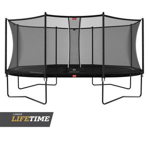 BERG Grand Favorit Regular Trampoline 520 [17ft]  + Safety Net Comfort