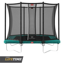 Load image into Gallery viewer, BERG Ultim Favorit Regular Trampoline 280[9ft] + Safety Net Comfort