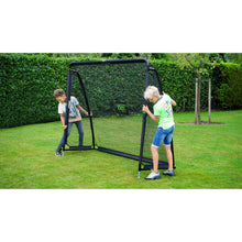 Load image into Gallery viewer, EXIT Coppa steel football goal 220x170cm - black
