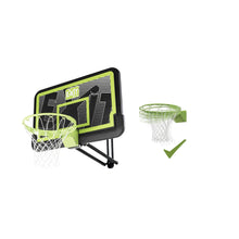 Load image into Gallery viewer, EXIT Galaxy wall-mounted basketball backboard with dunk hoop - black edition