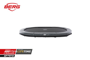 BERG Grand Elite InGround 520 [17ft] Grey Trampoline