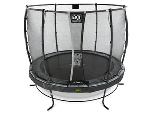EXIT Elegant Premium trampoline ø253cm with Deluxe safetynet