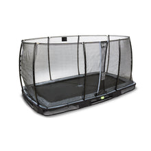 Load image into Gallery viewer, EXIT Elegant ground trampoline 244x427cm with Economy safety net