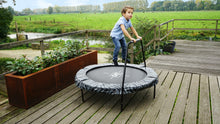 Load image into Gallery viewer, EXIT Tiggy junior trampoline with bar ø140cm