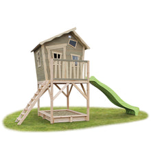 Load image into Gallery viewer, EXIT Crooky 700 wooden playhouse - grey-beige