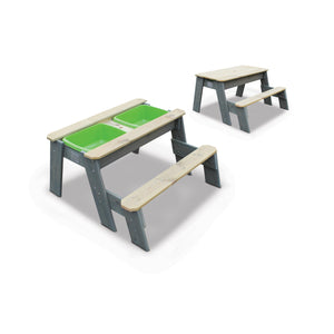 EXIT Aksent sand & water and picnic table (1 bench)