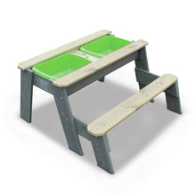 Load image into Gallery viewer, EXIT Aksent sand & water and picnic table (1 bench)