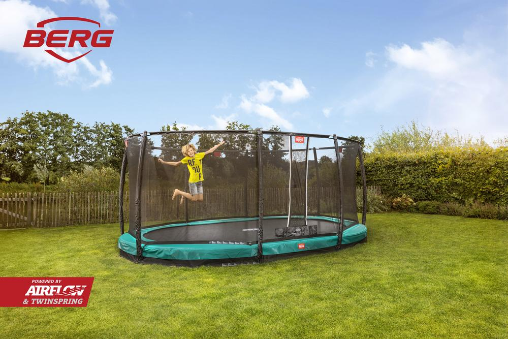 Berg Inground Grand Champion Oval Trampoline