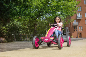 Berg Rally Pearl - Girls Pedal Go Kart