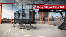 Load image into Gallery viewer, BERG Ultim Elite Rectangular Regular Trampolines