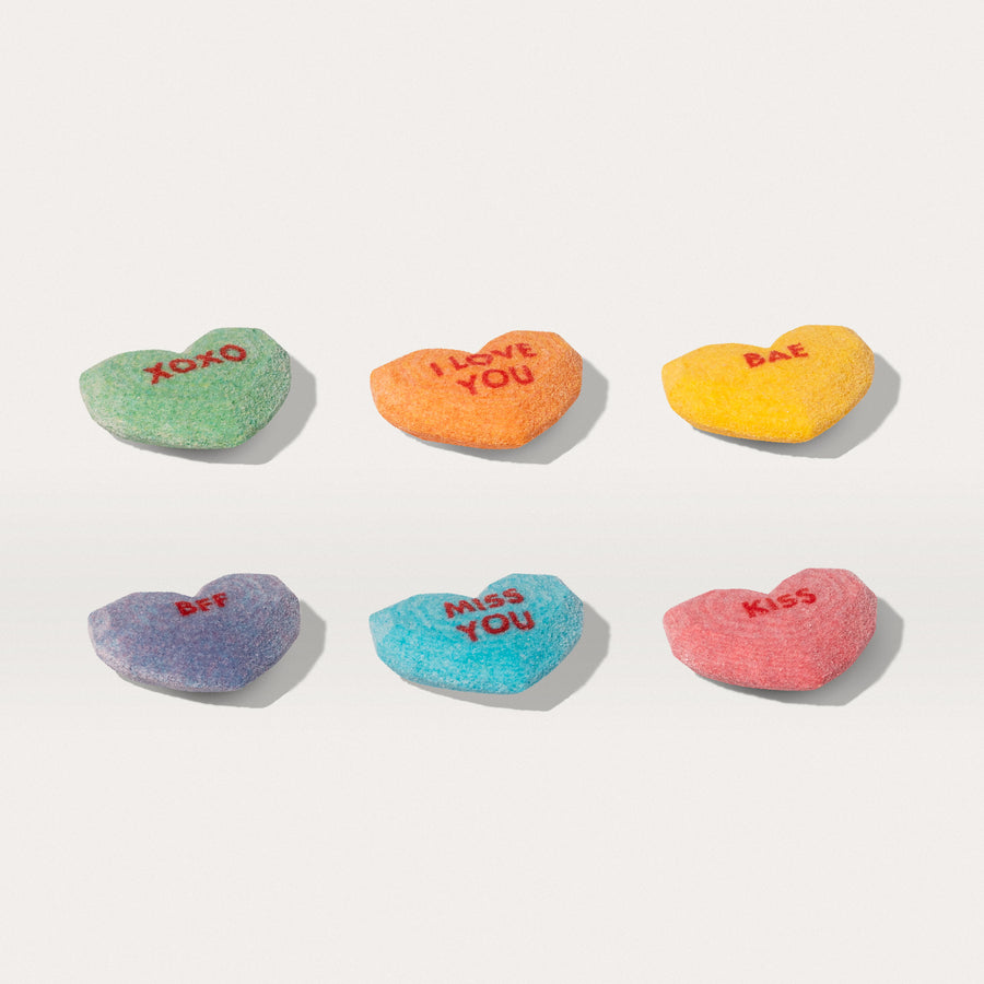 SMS Text Candy Hearts