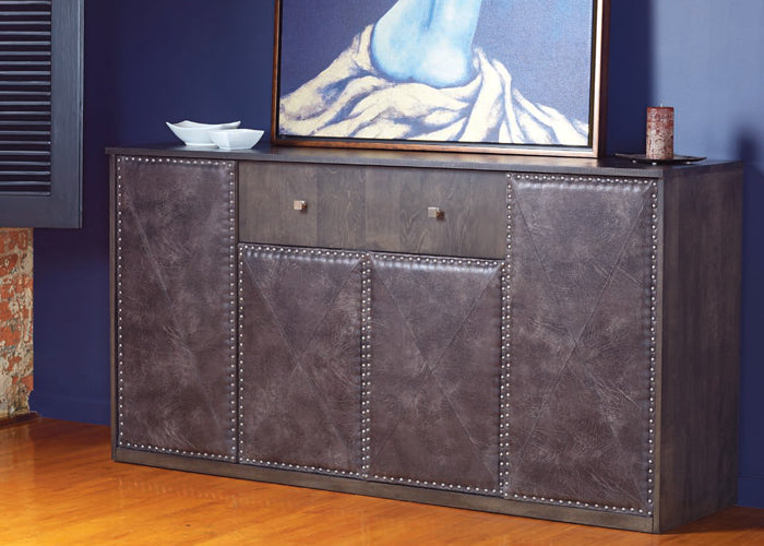 Buffet (upholstered with nails)