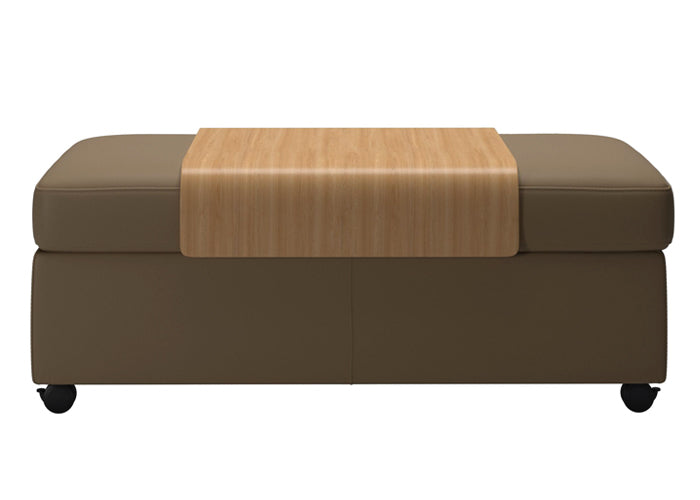 Double Ottoman with table