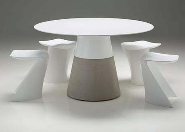 MALDIVES DINING TABLE WHITE