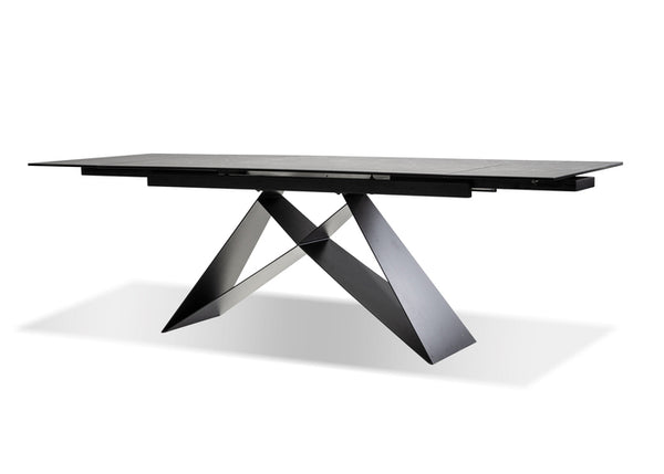 THE W DINING TABLE SLATE GREY