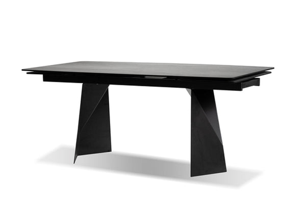 PRISM DINING TABLE INDUSTRIAL GREY