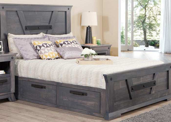 Algoma Queen 4 Drawer Storage Platform Bed