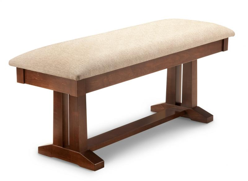 "Brooklyn 48"" Pedestal Bench"