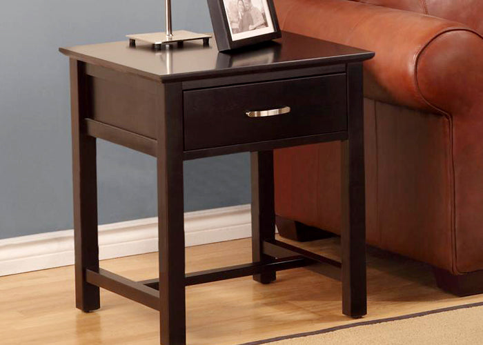 Brooklyn 1 Drawer End Table