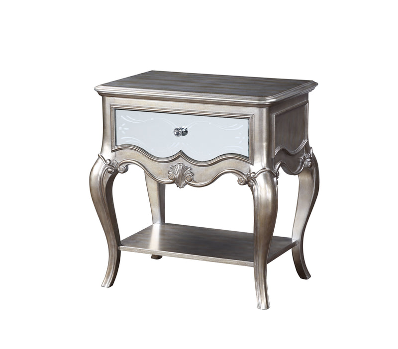 Esteban Antique Champagne Nightstand (1 Drw) image