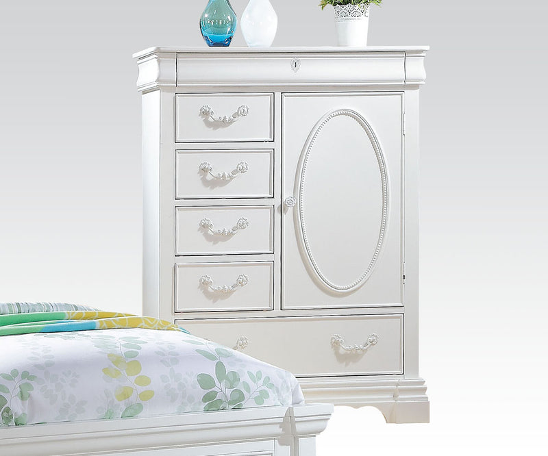 ACME Estrella Youth Chest in White 30246 image