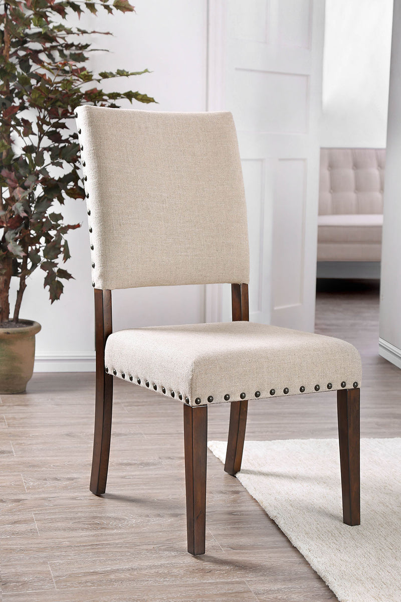 Glenbrook Brown Cherry/Ivory Side Chair (2/CTN)