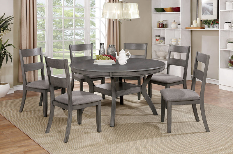 Juniper Gray Round Table