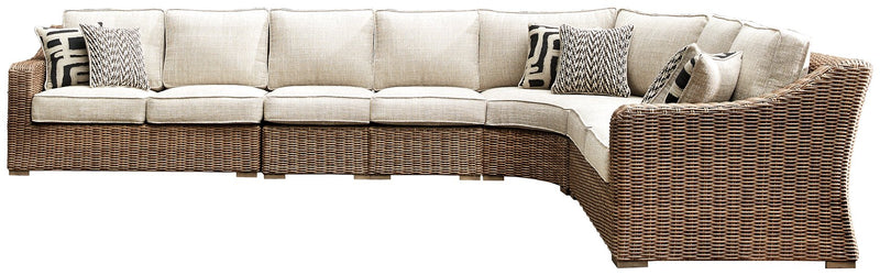 Beachcroft Signature Design by Ashley 5-Piece Sectional image
