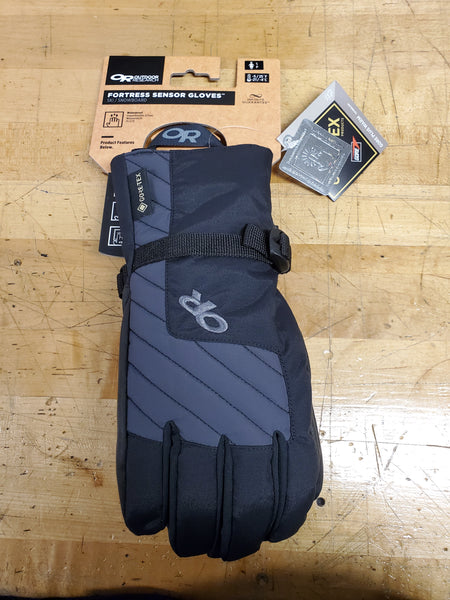 Outdoor Research Fortress sensor gloves  - Black, size Small