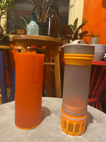 Grayl Ultralight Compact Purifier Bottle - Orange