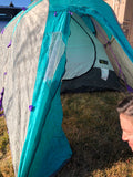 Mountain Hardware Trango II 4-Season Tent - Teal/Purple, One Size