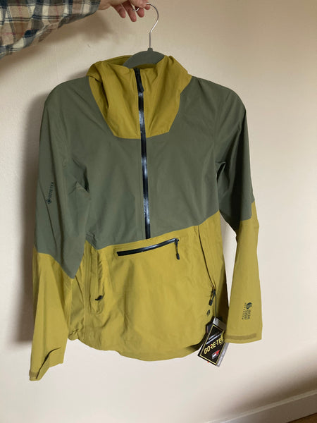 Mountain Hardwear Exposure 2 Gore-Tex Paclite Pullover - Green, size Medium