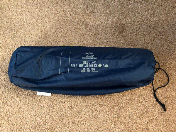 Mountain Summit Gear Self-Inflating Sleeping Pad - Blue, One Size