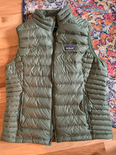 Patagonia Down sweater vest - Green, size L