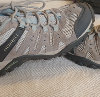 Merrell Wild Dove Hiking Boots - Grey/Blue, US 9.5
