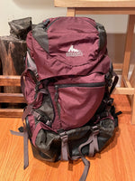 Gregory Deva 60L Backpack, Burgundy- Size S