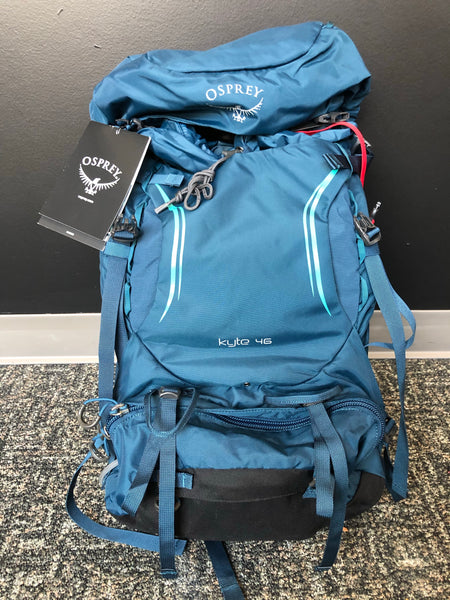 Osprey Kyte Backpack 46L - Teal, size XS/S
