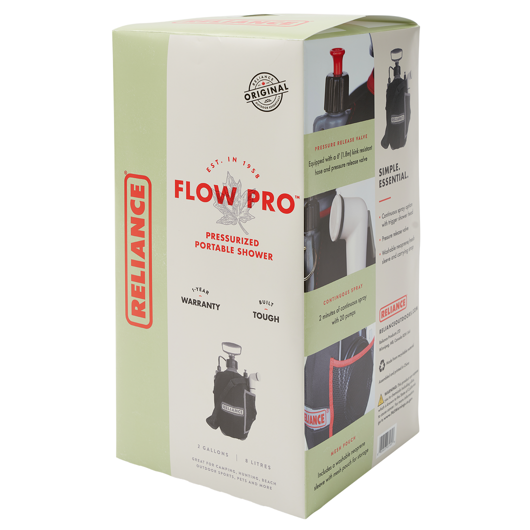 Flow Pro Portable Shower