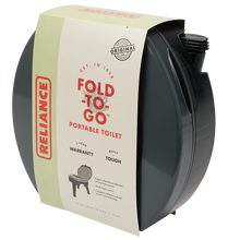 Load image into Gallery viewer, Fold-to-Go Portable Toilet