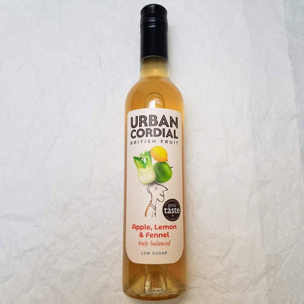 Apple, Lemon & Fennel Cordial 500ml